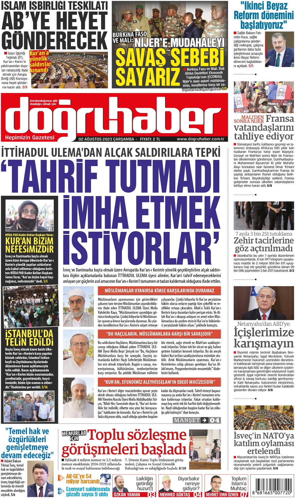 Doğruhaber Gazetesi